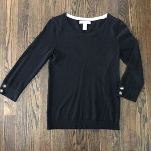 🔥 5 for $25 Banana Republic Black Sweater